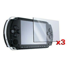3 Screen Protector + Cloth + For SONY PSP SH H0I5 H4V6