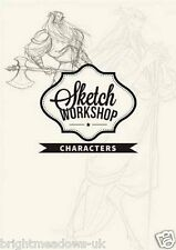 Sketch Workshop Characters How to Draw Drawing Art Book Guide Artist Learn Faces