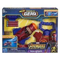 NERF Avengers Marvel Spiderman Iron Spider Blaster Toy