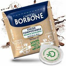 300 CIALDE IN CARTA ESE 44MM CAFFE' BORBONE MISCELA BLU ORIGINALI - BOX da 150