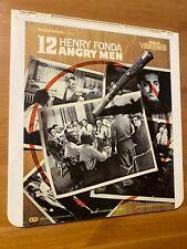 12 Angry Men - Fonda - CED SelectaVision Videodisc *Good condition*