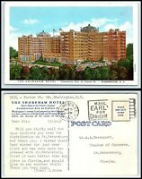 WASHINGTON DC Postcard - The Shoreham Hotel M6