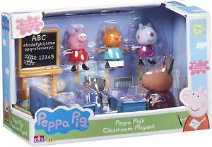 Peppa Pig - Peppa Pig's Classroom inc 5 figures - Age 3+