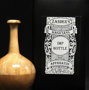 Imp Bottle by Zanders Magical Apparatus