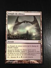 MTG MAGIC THEROS TEMPLE OF SILENCE (NM) FRENCH TEMPLE DU SILENCE