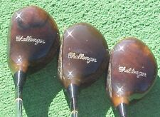 PERSIMMON Sportsman`s Chicago Golf Clubs Set Refinish Driver Brassie Spoon Woods