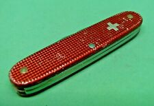Victorinox 93mm Rancher Swiss Army Knife in Red Alox old cross