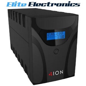ION F11 2200VA Line Interactive Tower UPS 4 x Australian 3 Pin Outlets