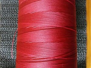 50mtrs  Whipping Thread Nylon Extra Strong  RED CLARET BUY 2 GET ANOTHER FREE.
