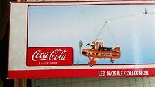 SUPER RARE  COCA COLA LED MOBILE COLLECTION POLAR BEAR IN Aircraft around World