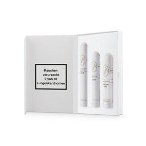 Davidoff Tubos Selection - drei Zigarren einzeln im Tubo verpackt - Geschenkset