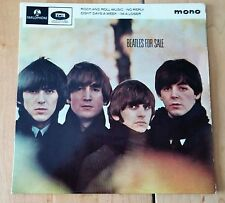 "The Beatles 'Beatles For Sale' 4-songs Mono UK 7"" 45RPM vinyl EP with Center"