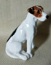 Royal Doulton Seated Foxhound Terrier Dog K7 Porcelain Figurine