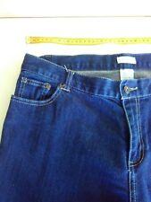 Womans Capture Jeans, Blue Denim, Size 18
