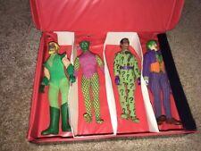 Mego WGSH 8 inch World's Greatest Super Heroes  Riddler-Joker-Arrow-Green Goblin