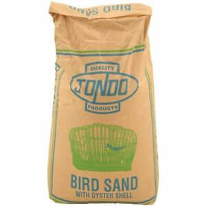 JONDO Bird Sand Crushed Oyster Shell Grit Budgie Canary Cockatiel Aviary 25kg