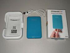 Polaroid Zip Instant Print Wireless Mobile Printer - Blue