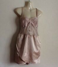 MOTEL KATE CREAM LACE TULIP MINI PARTY DRESS SMALL-UK8? RRP £35
