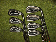 GREAT CLEVELAND GOLF CLUBS BLACK GUNMETAL TA5 IRON SET4-PW REGULAR FLEX SHAFTS