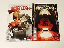 ULTIMATE IRON MAN #1 & 2  Marvel Ultimate Comics 2012