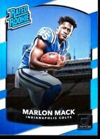 2017 Donruss Colts Card:  Marlon Mack RB - Rookie Card #302     BUY 1 GET 2 FREE