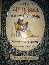 LITTLE BEAR BY ELSE HOLMELUND MINARIK *FIRST ED*