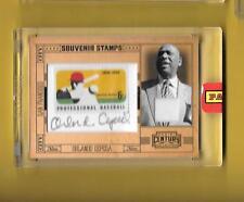 2010 Panini Century Auto Stamp Souvenir ORLANDO CEPEDA HOF 1/10 Rare!