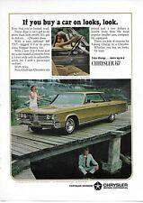 1966 1967 Chrysler 440 TNT Full Size Car Auto Original Vintage Print Ad