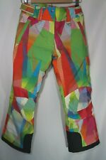 Sunice Pants Insulated Ski Snow Board Youth 10 Girls Climaloft Warmth Cargo