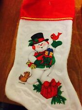 Christmas Stockings Assorted - Snowman