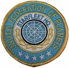 Star Trek Classic Series Starfleet H.Q. UFP Embroidered Patch