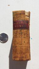 Miniature 1856 Methodist Pocket Purse Hymnal