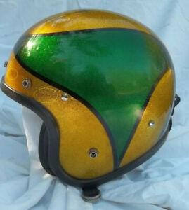 Buco Enduro Helmet Metalflake Metal Flake Sparkle Glitter Motorcycle Scooter
