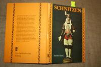 Fachbuch Schnitzen, Schnitzer, Holzfiguren, Holzkunst, Bildhauer, DDR 1984