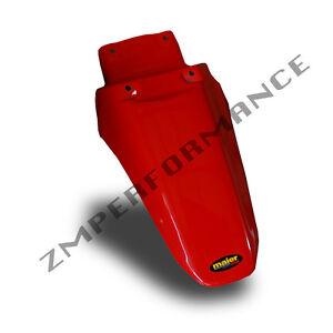 NEW HONDA XR 100 01 - 03 FIGHTING RED PLASTIC REAR MOTORCYCLE FENDER MUD GUARD
