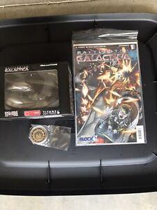 Loot Crate 3 Piece Battlestar Galactica Lot