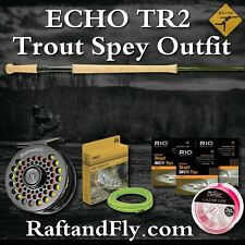 ECHO TR2 4wt Trout Spey Setup Outfit - Ion or Battenkill - Lazar, 4 MOW Tips