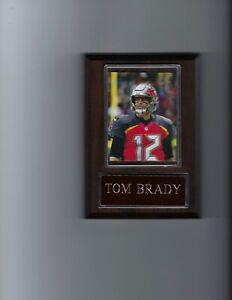 TOM BRADY PLAQUE TAMPA BAY BUCCANEERS BUCS FOOTBALL NFL