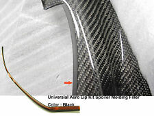 UNIVERSAL FOR HONDA CIVIC EK EG FA EM FRONT LIP MOLDING GAP FILLER TAPES (BLACK)
