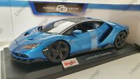 MAISTO 1:18 Scale Diecast Model Car  Lamborghini Centenario in Blue