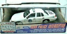 Classic Metal Work Denver Police Dept. Ford Police Interceptor Diecast Car NIB
