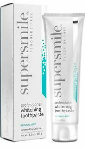 Supersmile Professional Teeth Whitening Toothpaste , Fluoride Free , 4.2 oz