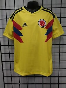 adidas 2018 WORLD CUP COLOMBIA YOUTH HOME JERSEY (BR3509) SIZE YM