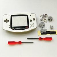 Super Mario Housing Shell Case for Nintendo Gameboy Advance GBA - White