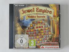 PC CD-ROM Jewel Empire Hidden Secrets