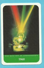 Theodore Harold Maiman Physicist Laser Inventor Cool Collector Card from Europe