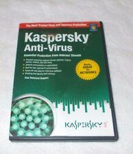 Kaspersky Anti-Virus 1997- 2010- with product activation code-  New Never Used