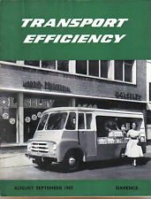 Transport Efficiency Nuffield Comm. Magazine Aug-Sep 1957 BMC C Type Morris J2 +