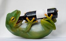 Frog Wine Bottle Holder Caddy Wine Racks
