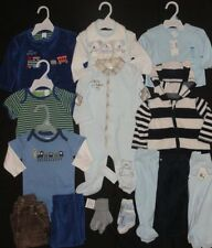 Huge Baby Boys Infant 3-6 Months Clothing Lot NWTS EUC Outfits Sets GAP Fall